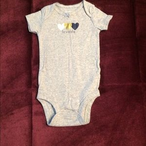 Lovable Carter's Onesie, 9 month